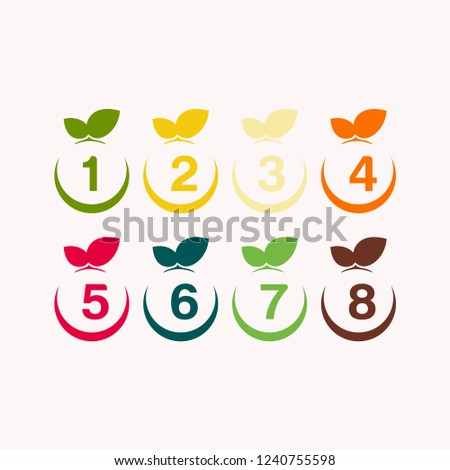apple number templete