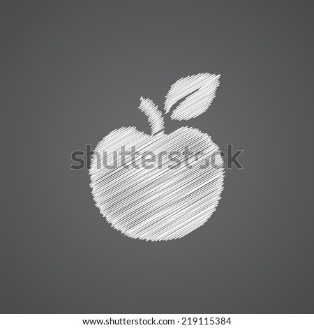 apple sketch logo doodle icon