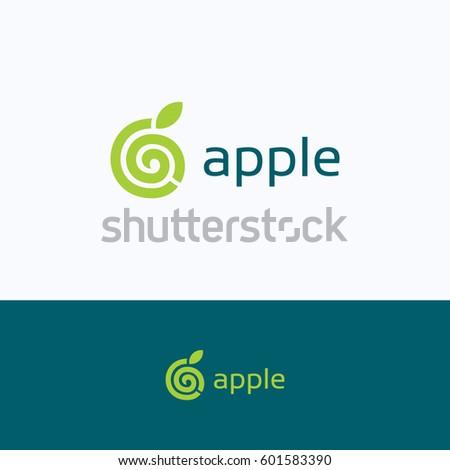apple spiral 6 b logo  letter