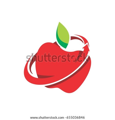 apple swoosh logo