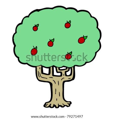 Apple Tree Cartoon Images Apple Tree Cartoon