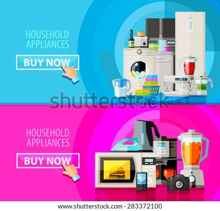 appliances vector logo design