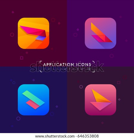 application icons set 02
