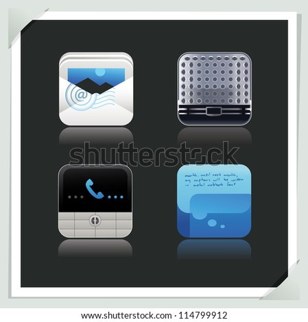 Application Icons Set 4 of 33