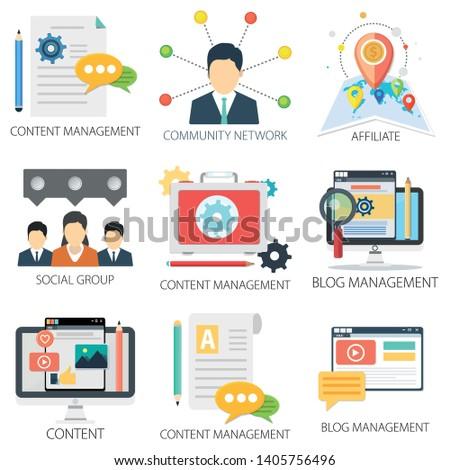 Application with Content Management, Community Network, Affiliate, Social Group, Blog Management and Blog Management