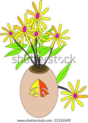 japanese flower vase