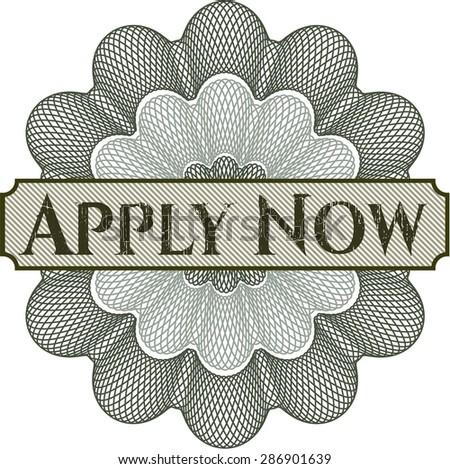 apply now rosette