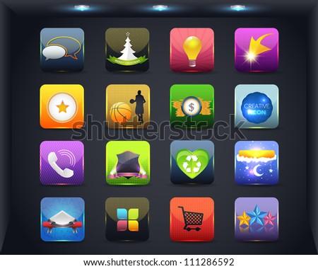 Apps Icon Vector Design 04