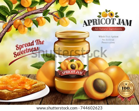 apricot jam ads  delicious
