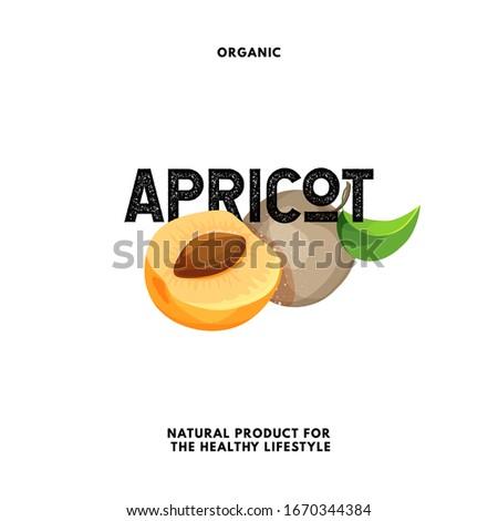 apricots label fruits