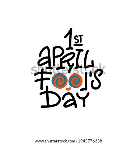 april fool's day with colored
