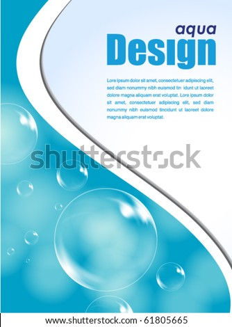 aqua design background
