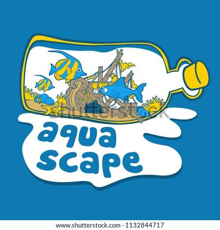 Aquascape Ideas Aquascape Logo Vector