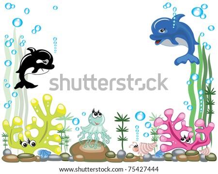 Aquarium ,vector