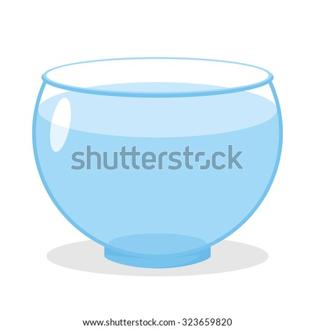 aquarium with water