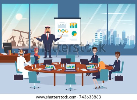 https://image.shutterstock.com/display_pic_with_logo/3911867/743633863/stock-vector-arab-business-man-doing-presentation-of-new-project-with-infographic-for-his-partners-cityscape-743633863.jpg