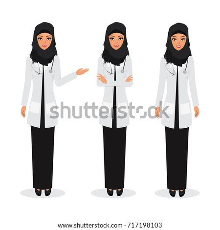 arab doctor occupation friendly