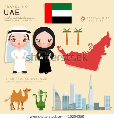 arab emirates   infographic