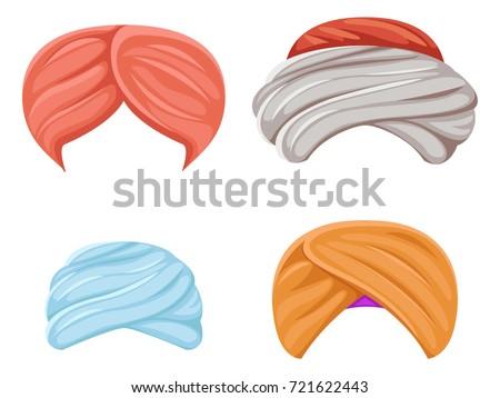 arab indian culture headdress