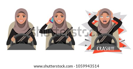 arab woman driving a car woman