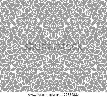 Arabesque decor. Seamless pattern. Vector Illustration.