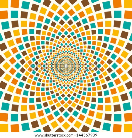 arabesque in color vector