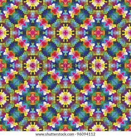 Islamic Mosaic Wallpaper Arabesque Mosaic Symmetric