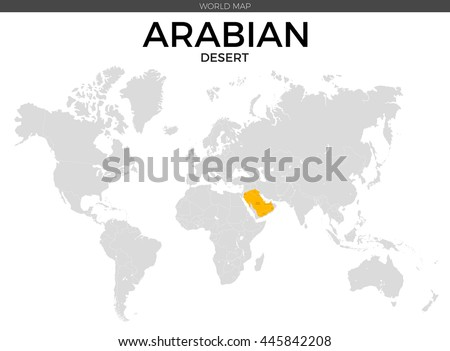 Grayscale vector worldmap download free vector art stock arabian desert location modern detailed vector map all world countries without names vector template gumiabroncs Image collections