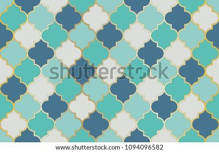 arabic mosque window vector