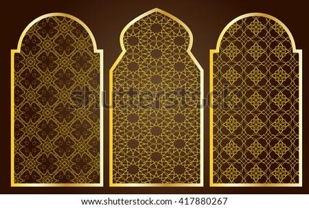arabic oriental islamic style...