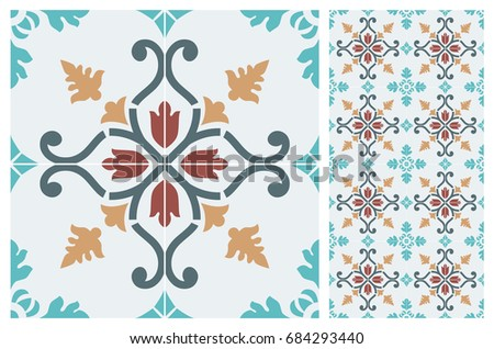 arabic patter style tiles for...
