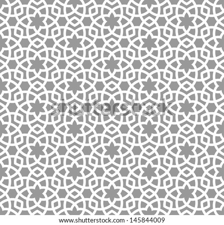 Arabic seamless ornament Abstract background
