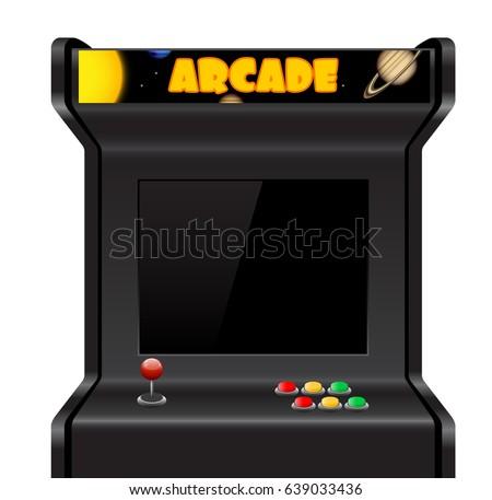 Arcade Game Machine Vectors - Download Free Vector Art, Stock ...