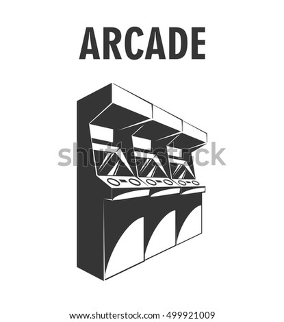 arcade machine the video game