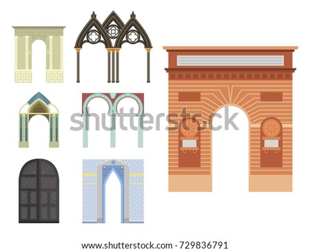 arch vector architecture...