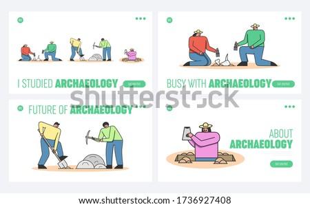 archeology excavation website