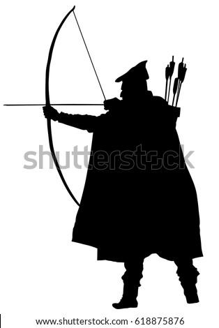 archer vector silhouette