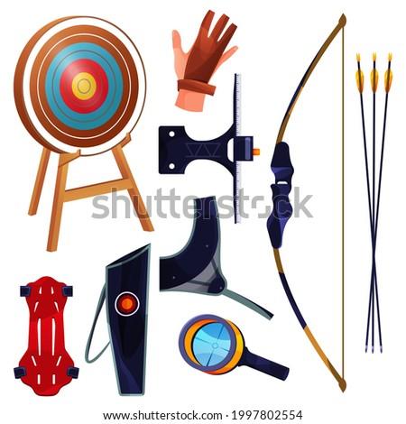 archery equipment or sport