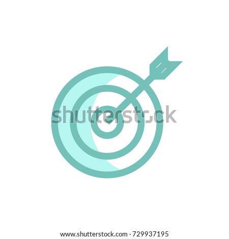 archery icon vector. archery modern style design #729937195
