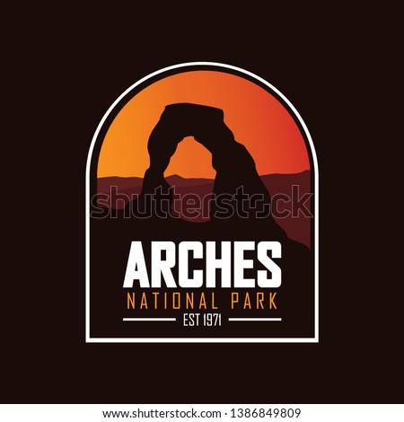 arches  utah usa national park