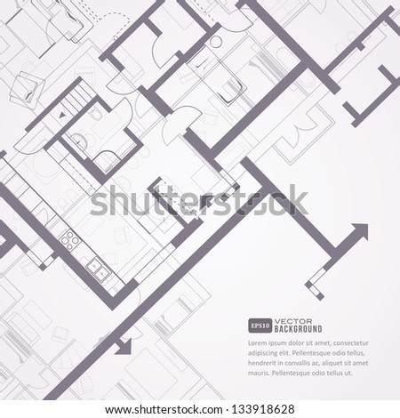 architectural background eps10