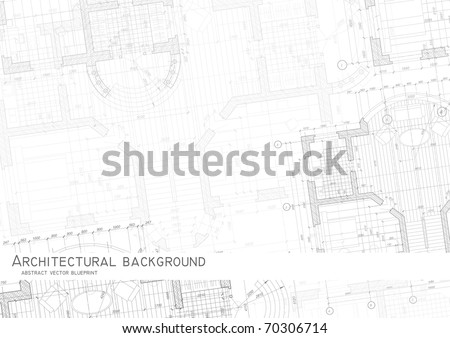 Architectural background. Vector.