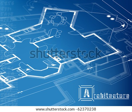 architectural background. vector. EPS10