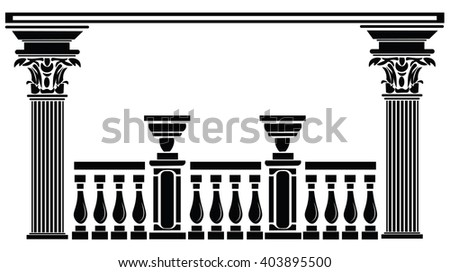 architectural columns greek