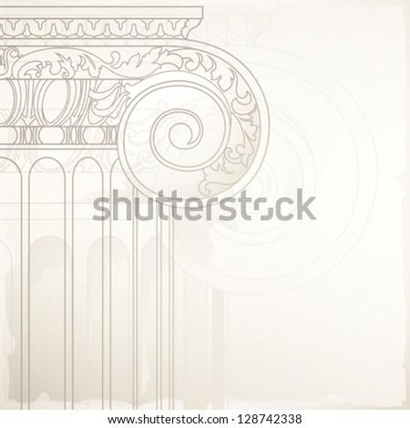 architectural design background , eps10