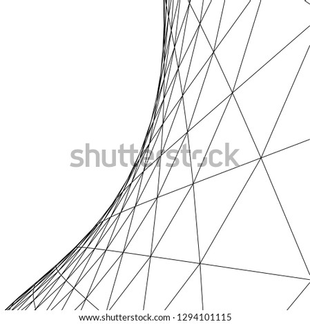 Architectural drawing. Geometric background #1294101115