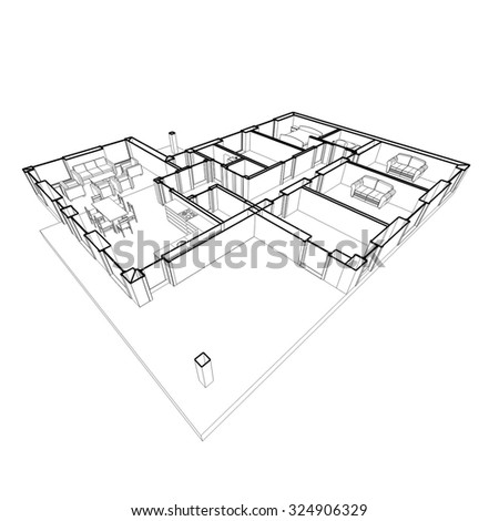 architectural drawings house