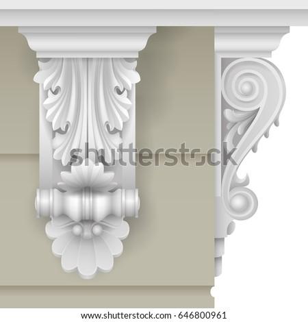 architectural facade classic...