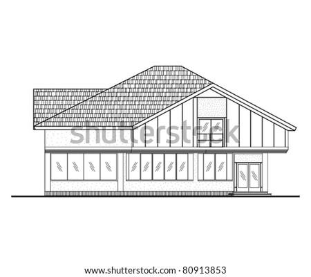 Architectural Facades Drawings Architectural Facade Technical