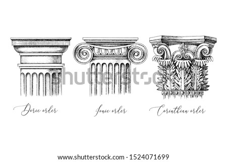 architectural orders 3 types